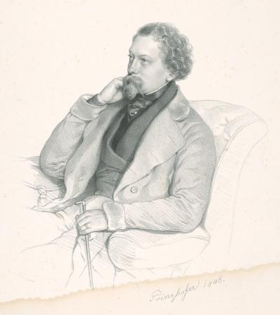 Portrét muža s paličkou
