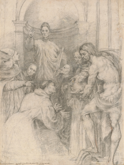 Christ in a Group of Saints