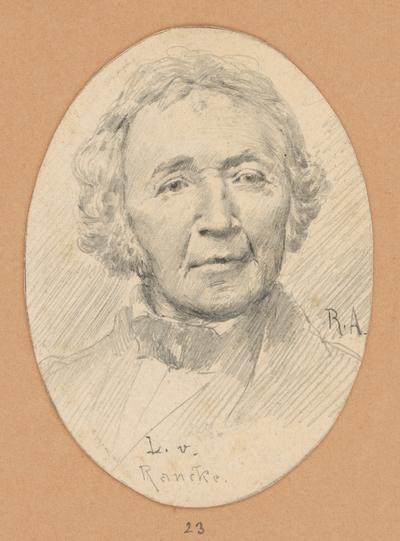 Portrétna štúdia L. v. Rancke