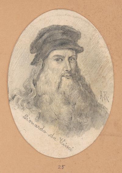Portrétna štúdia Leonarda da Vinci