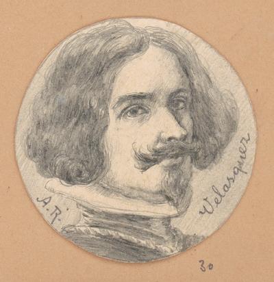 Portrétna štúdia Velasqueza