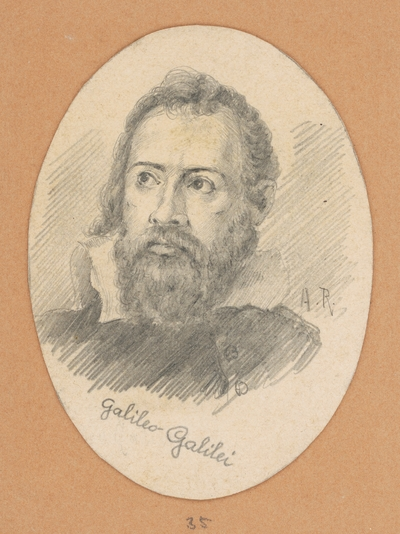 Portrétna štúdia Galilea Galilei