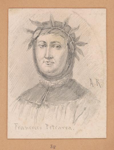 Portrétna štúdia Francesca Petrarcu