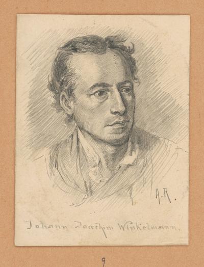 Portrétna štúdia Johanna Joachima Winkelmanna
