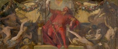 Gambrinus - Study for the Decorative Panel