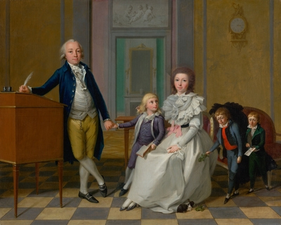 Family of Imperial Assessor von Kronegy