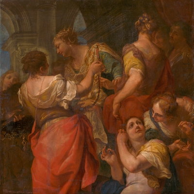 Achilles and the Daughters of King Lycomedes