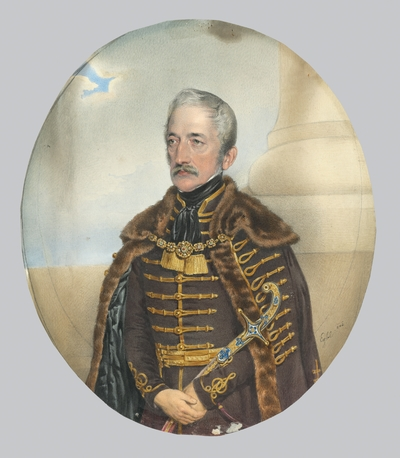 Portrait of a Nobleman with a Sword
