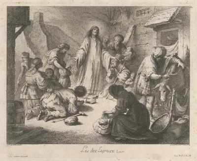 Kristus uzdravuje malomocných