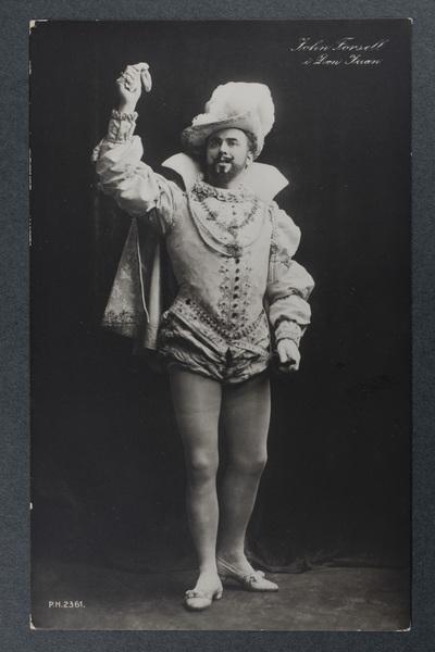 John Forsell (1868-1941) i titelrollen i  ...