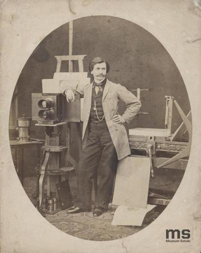 Autoportret w pracowni