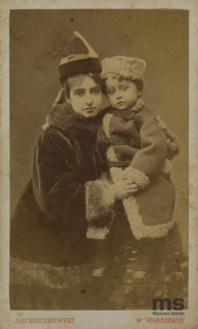 Portret kobiety z dzieckiem