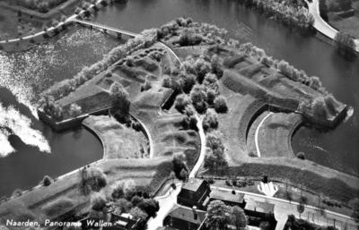 Image from object titled Luchtfoto van bastion Turfpoort met de Kippenbrug