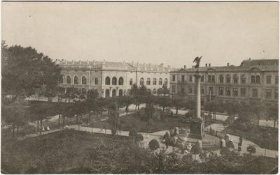 Image from object titled Rīga. Pils laukums. Uzvaras kolonna