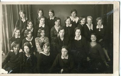 Image from object titled Ērika Bendika. Valmieras ģimnāzijas 2.b klase