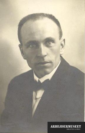 Portræt af Martin Tranmæl