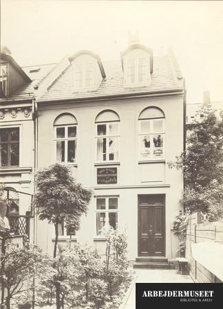 Bryggeriarbejdernes forbundshus på Bjelkes Allé 32 på Nørrebro