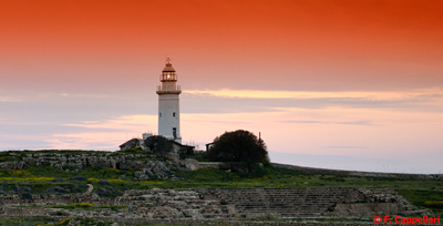 Image from object titled Lighthouse in the Archaeological Park, Paphos, Cyprus