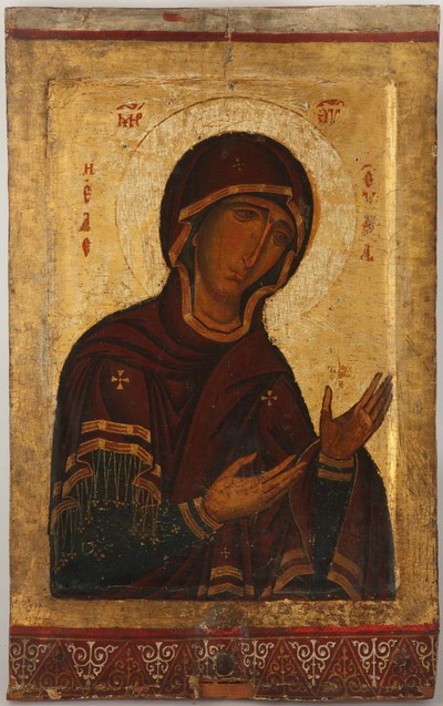 Image from object titled Virgin Eleousa (The Merciful)