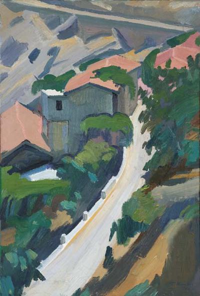 Δρόμος και Σπίτια προς την Φωτίστρα