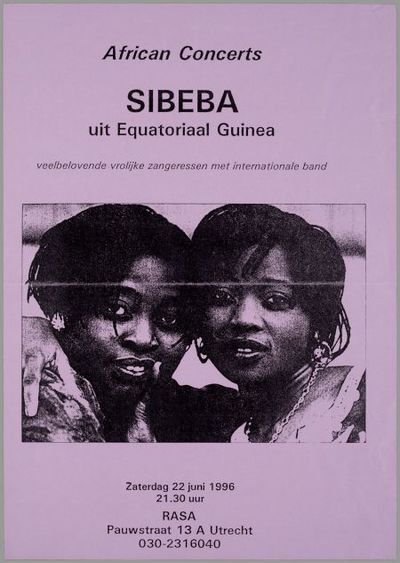Sibeba uit Equatoriaal Guinea