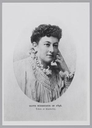 Olive Schreiner (1855-1920).