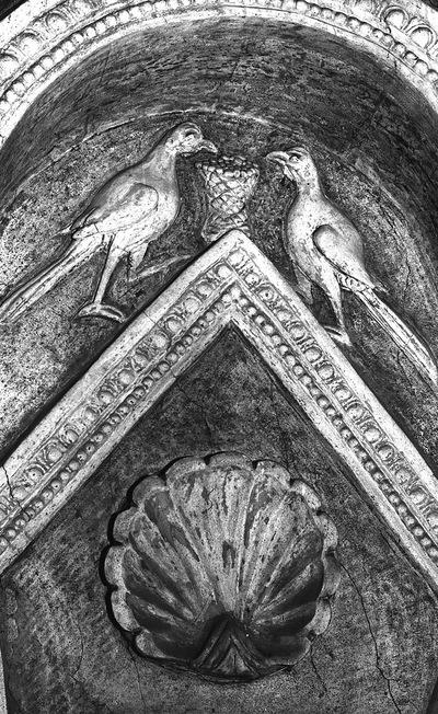 Image from object titled Ravenna, Battistero Neoniano, Decorazione a stucco