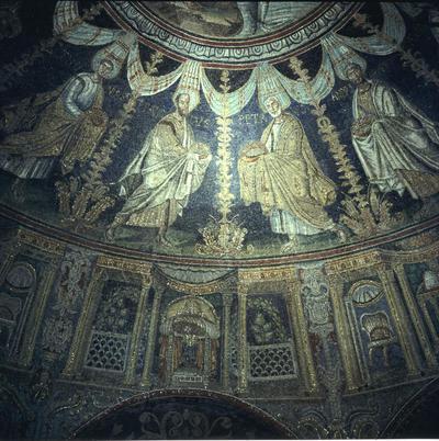 Image from object titled Ravenna, Battistero Neoniano, Corteo degli Apostoli