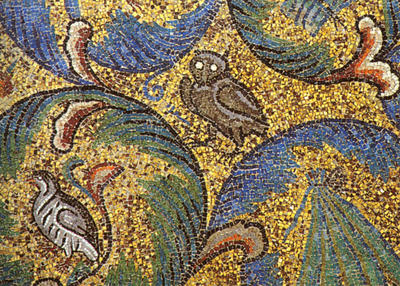 Image from object titled Ravenna, Basilica di San Vitale, Racemi d'acanto, particolare