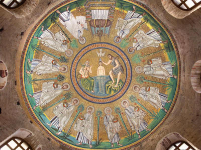 Image from object titled Ravenna, Battistero degli Ariani, Cupola