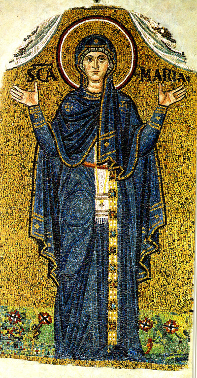 Image from object titled Ravenna, Museo Arcivescovile, Vergine orante