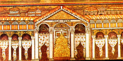 Image from object titled Ravenna, Basilica di Sant'Apollinare, Palatium