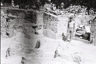 Image from object titled Octagonal church complex, Philippi, Macedonia, Greece