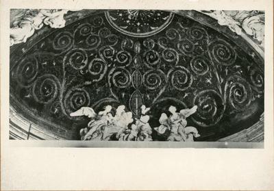 Image from object titled Roma, atrio dell Battistero Lateranense: mosaico del catino absidale in corrispondenza della c.d. Cappella Borgia