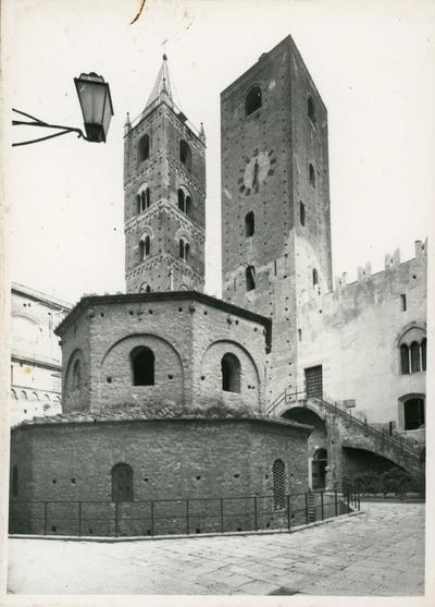 Image from object titled Albenga. Esterno del Battistero