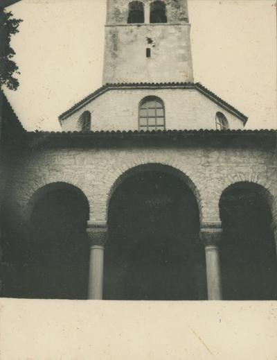 Image from object titled Poreč (Jugoslavia). Basilica Eufrasiana. Ingresso al battistero