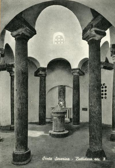 Image from object titled Santa Severina. Battistero, sec. X