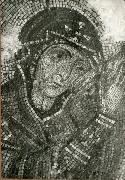 Image from object titled Chio. Nea Moni: la Vierge