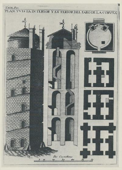 Image from object titled La Coruña, faro romano