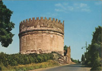 Image from object titled Roma, Tomba di Cecilia Metella