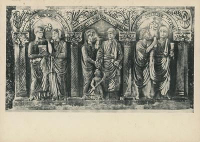 Image from object titled Roma, Sarcofago di Villa Ada