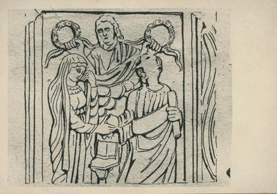Image from object titled Roma, Villa Albani, frammento di sarcofago