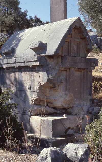 Image from object titled Xanthos, Lycian pillar tomb
