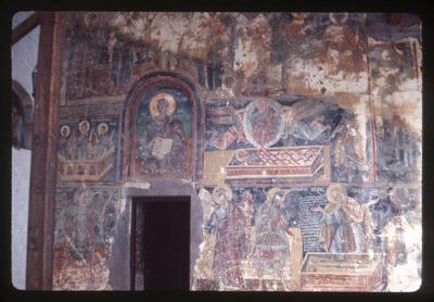 Image from object titled Kastoria, Monastery of Panagia Mavriotissa: frescoes outside the monastery, detail