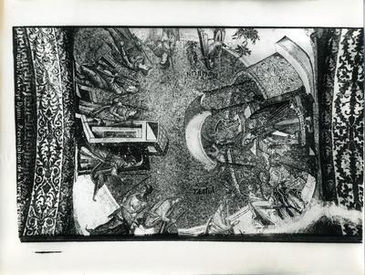Image from object titled 25. Constantinople, Église Saint-Saveur-in-Chora (Istanbul, Kariye Camii) - Présentation de la Vierge au Temple - Sebah & Joaillier