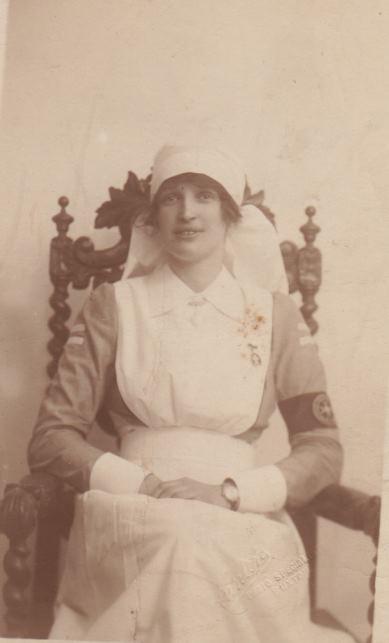 Image from object titled Nancy Garnett: the wartime scrapbooks of a VAD nurse