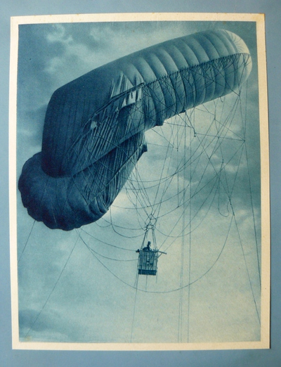 Image from object titled Beobachtung Zeppelin