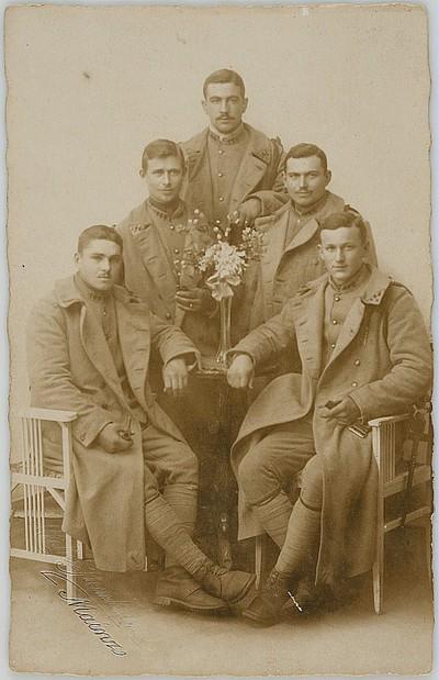 Image from object titled Henri PAPIN, jeune soldat de la classe 1919