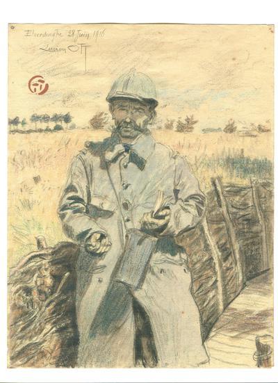 Image from object titled Lucien Ott: Un artiste sur le front franco-belge