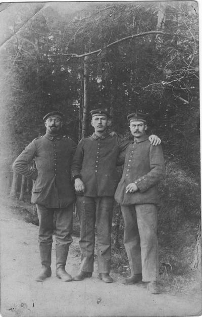 Image from object titled Soldat mosellan combattant sous l'uniforme allemand sur le front de l'est